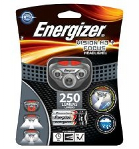 ENERGIZER VISION HD + FOCUS HEADLIGHT