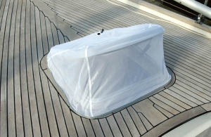 Blue Performance Hatch Cover Mosquito 10 Ø600mm