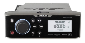 Fusion 650 FM/DVD/Bluetooth/USB/NMEA