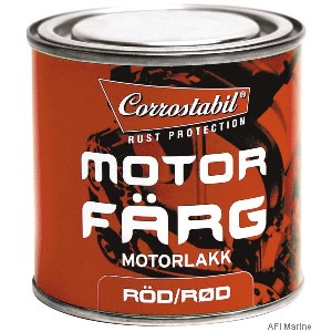 MOTORFARVE RØD 250ML